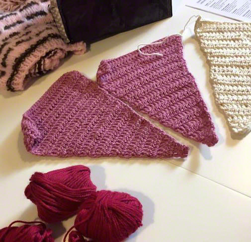 Margherita bratti viacalimala art room Eccellenza Artigiana Torino Piemonte fili di pace knitting