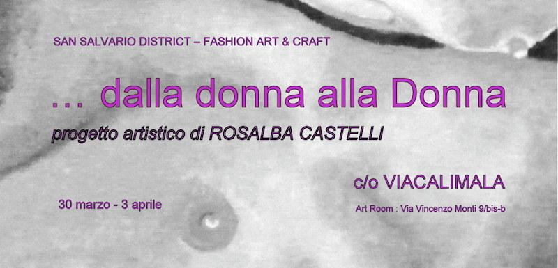 Salvario Dictrict art craft Margherita Bratti Rosalba Castelli