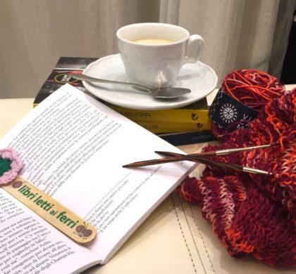 libri letti ai ferri il knit/cafè del mercoledì