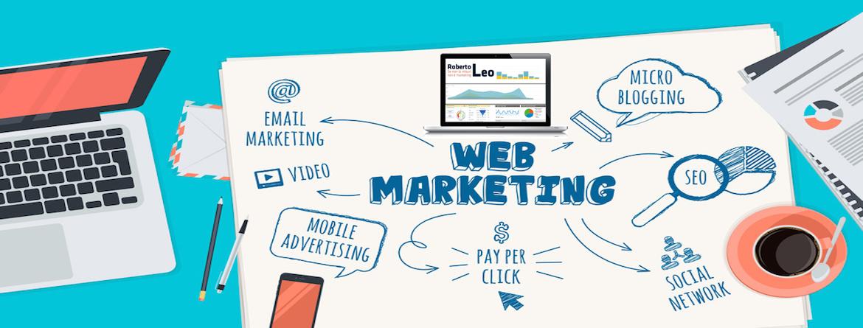 Roberto Leo il Consulente Web Marketing Torino, realizzazione blog aziendali, gestione campagne social media marketing, e-mail marketing, posizionamento SEO