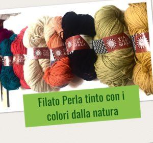 filato Viacalimala -tinto con i colori dalla natura
