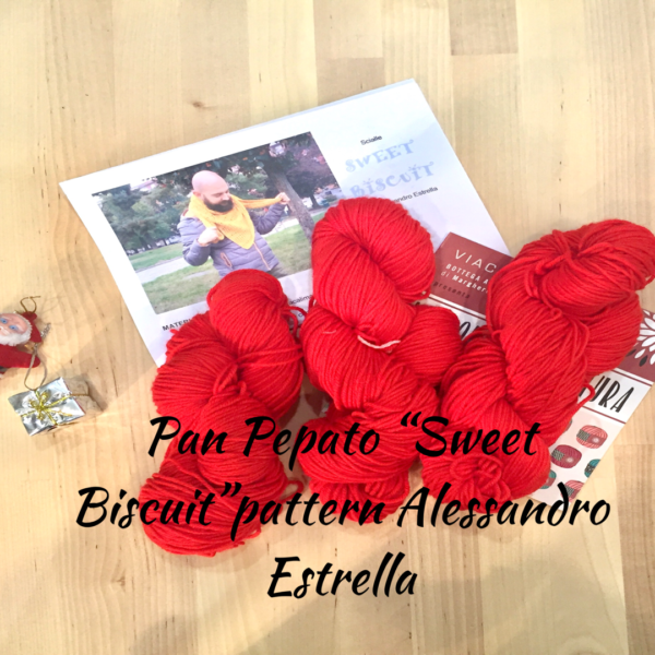 Pan Pepato kit sweet biscuit VIACALIMALA