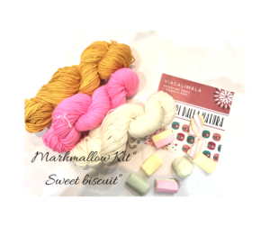 Viacalimala kit sweet biscuit - Marhmallow