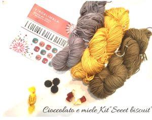 Viacalimala kit sweet biscuit cioccolato e miele