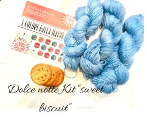 Viacalimala kit sweet biscuit dolce notte