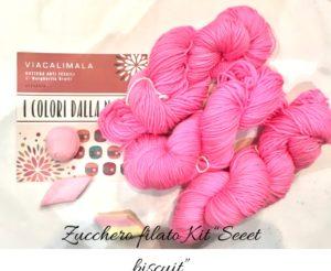 Viacalimala kit sweet biscuit zucchero filato