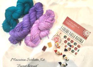 Viacalimala kit sweet biuscuit Macaron sorbetto