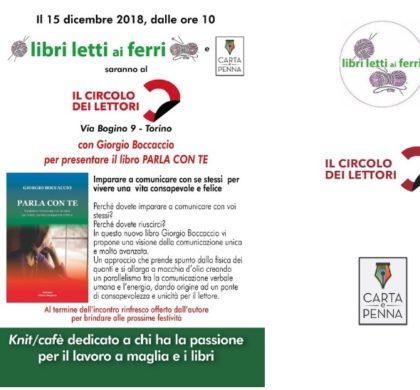 """""""Parla con te"""" con Giorgio Boccaccio al Circolo dei lettori"""