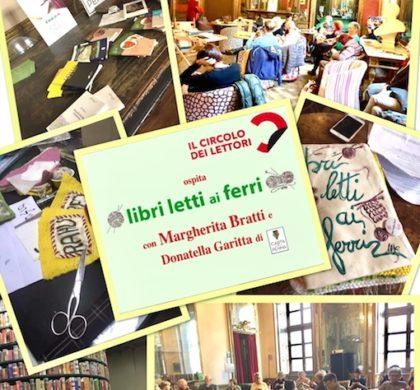 """Libri letti ai ferri il """"knit/cafè"""" al Circolo dei lettori"""
