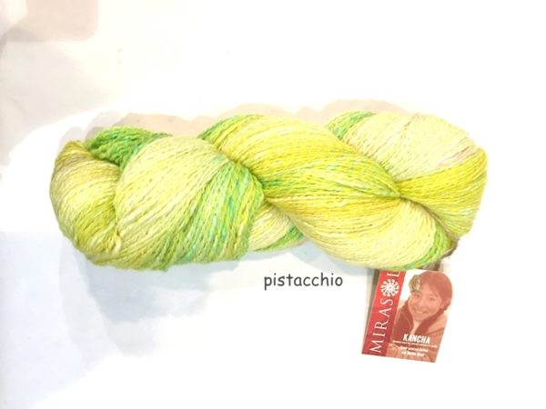 Mirasol filati VIACALIMALA pistacchio
