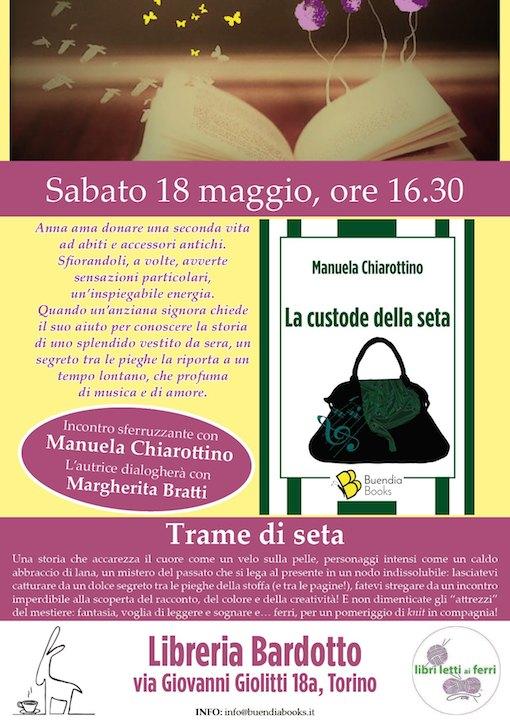 Trame di seta Buendia books Margherita Bratti Manuela Chiarottino
